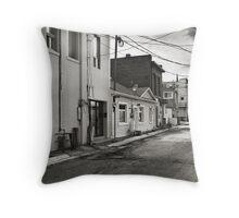 Rough Neighborhood Throw Pillow