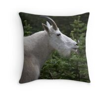 Billy profile Throw Pillow