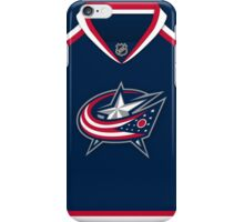 Columbus Blue Jackets Home Jersey iPhone Case/Skin