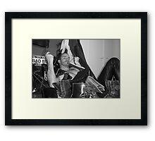 Bad boys series 2 Framed Print