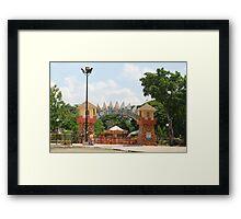 Quezon Memorial Circle: Circle of Fun 26 Framed Print