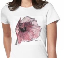 Poppy Womens Fitted T-Shirt