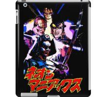 Neon Maniacs iPad Case/Skin
