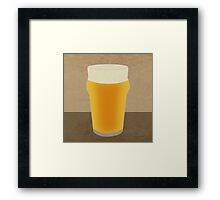 A Pint of Beer Framed Print
