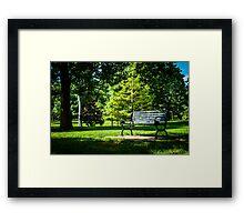 Goodale Park Framed Print