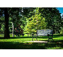 Goodale Park Photographic Print