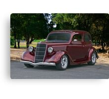 1935 Ford Tudor Sedan II Canvas Print