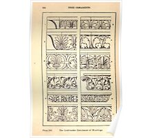 A Handbook Of Ornament With Three Hundred Plates Franz Sales Meyer 1896 0180 Free Ornaments Link Border Enrichment Moulding Poster