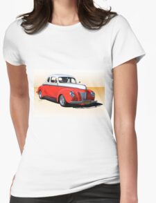 1940 Ford Deluxe Coupe 50 50 I Womens Fitted T-Shirt