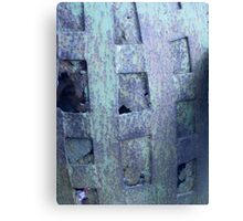 Iron barrel - Widgiemooltha Canvas Print