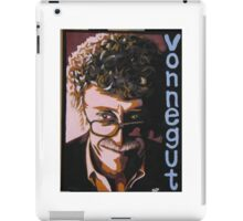 Kurt Vonnegut portrait iPad Case/Skin