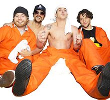 Johnny, Steve-O, Ryan, and Bam by mdsnwlls