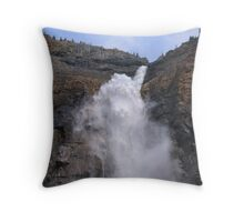 Big Water - Takakkaw Falls Throw Pillow