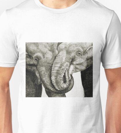 Loving Elephants Unisex T-Shirt