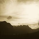 Dawn Over The Mountains by Rhonda Blais