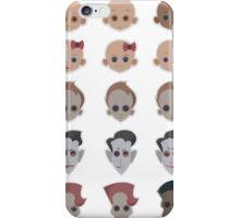 characters iPhone Case/Skin