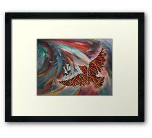 In Flight - bird Inspiration Framed Print