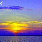 My Sunset Interpretation by Amedori