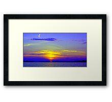 My Sunset Interpretation Framed Print