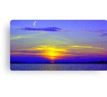 My Sunset Interpretation Canvas Print