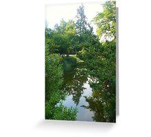 Pond III Greeting Card
