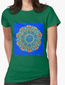 Doily Joy Mandala- Sky High T-Shirt