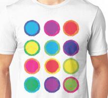Colorful Circles Unisex T-Shirt