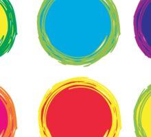 Colorful Circles Sticker