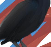 Black Bird 2 Sticker