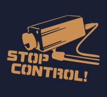 Stop Control  Baby Tee