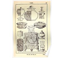 A Handbook Of Ornament With Three Hundred Plates Franz Sales Meyer 1896 0335 Vases Jar Cist Poster