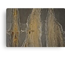 Stains on a wall Canvas Print