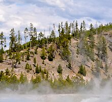 Excelsior Spring Yellowstone by bluemoondc