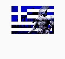 Greek flag Warrior  Unisex T-Shirt
