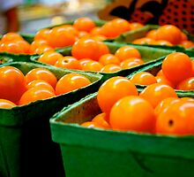 Farmers Market Baby Tomatoes by bluemoondc