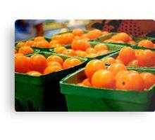 Farmers Market Baby Tomatoes Metal Print