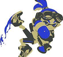 Minimalist Inkling Boy by 4xUlt