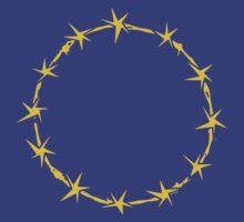 EU Barb Wire by saturdaytees