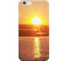 Sunset over the Marshlands. iPhone Case/Skin