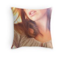 ...and sometimes there is light. Throw Pillow