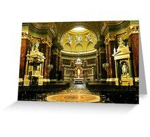 Saint Steven's Basilica Greeting Card