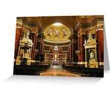 Saint Steven's Basilica III Greeting Card