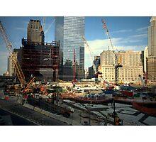 ~Through to Ground Zero-I~ Photographic Print