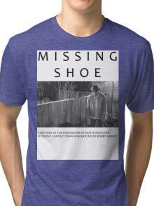 I lost my shoe... Tri-blend T-Shirt