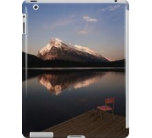 Mount Rundle At Sunset iPad Case/Skin