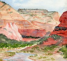 Zion National Park by Diane Hall