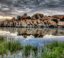 Willow Rock Twice by Bob Larson