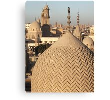 Rooftops of Cairo, Egypt Canvas Print