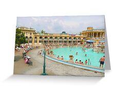 Thermal Baths Greeting Card