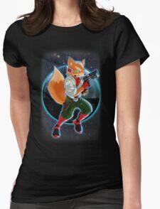 Fox McCloud Womens Fitted T-Shirt